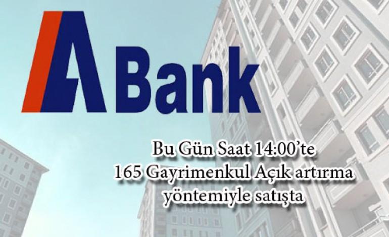 A Bank Gayrimenkullerini Bu Gün Açık Artırma İle Satıyor