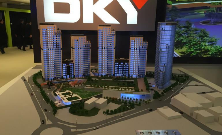 DKY İnşaat Projenin yüzde 40'ını sattı, tüm arsayı aldı