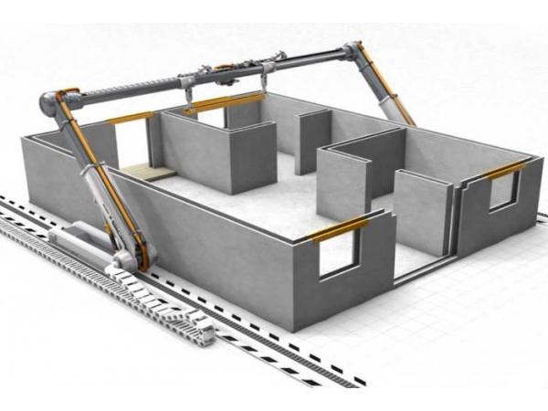 3d yazıcı inşaat sektöründe