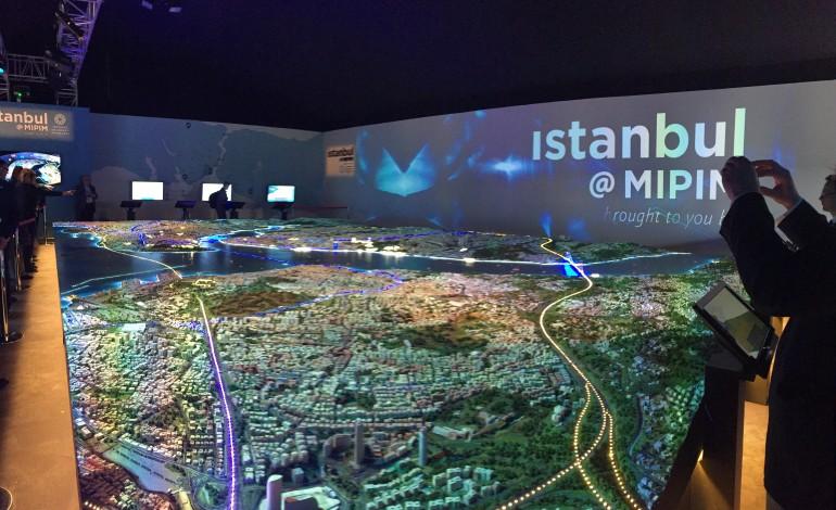 Mipim'de İstanbul Çadırına Büyük İlgi