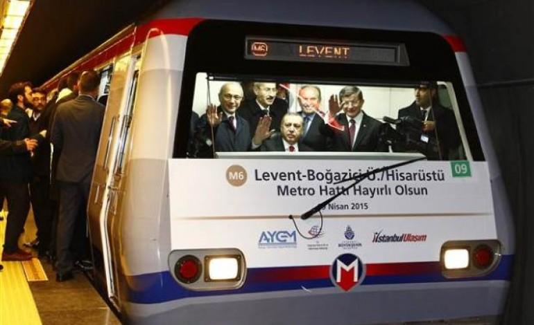 Levent Hisasüstü Metrosu Açıldı