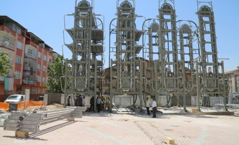 Elazığ'a Elektromekanik Katlı Otopark Geliyor