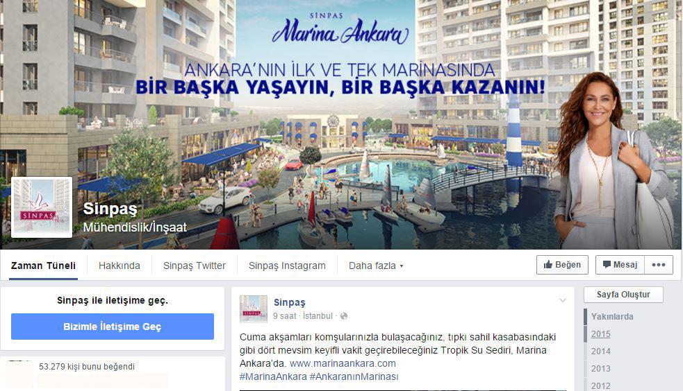sinpaş sosyal medya kanalları