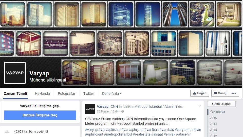 varyap facebook sayfası