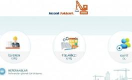 İnşaat Sektörüne Yönelik Online İhale Platformu Girişimi: İnşaat Dükkanı!