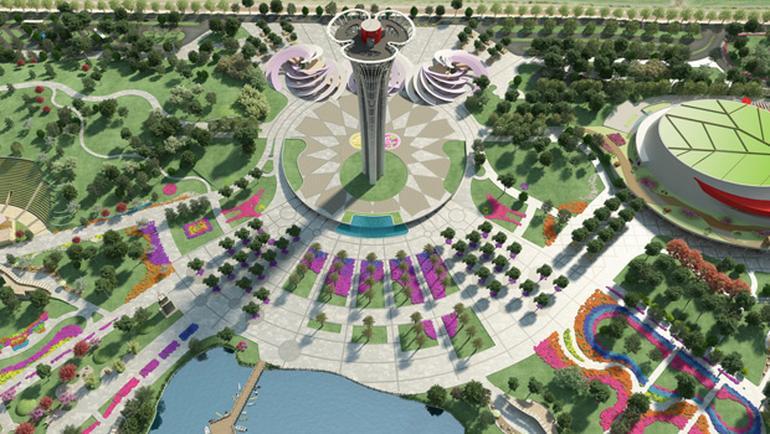 Expo kulesi 6 ayda bitecek
