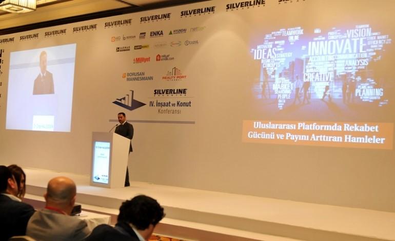 Silverline 4. İnşaat ve Konut Konferansı İnşaat Sektörünün Devlerini Buluşturdu