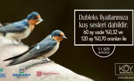 Köy'de Fiyatlara Kuş Sesleri Dahil !