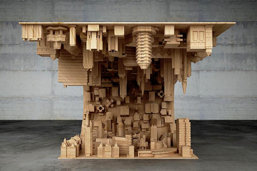 3D baskı kahve masası tasarımı