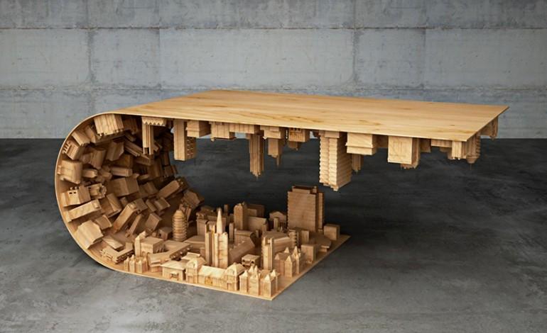 3D Baskı ile Ahşap Masa Tasarımı