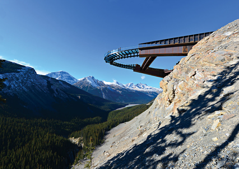 Glacier Skywalk, cam seyir terası 1