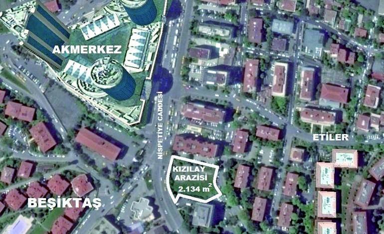 Akmerkez'e komşu 10 katlı Kızılay oteli