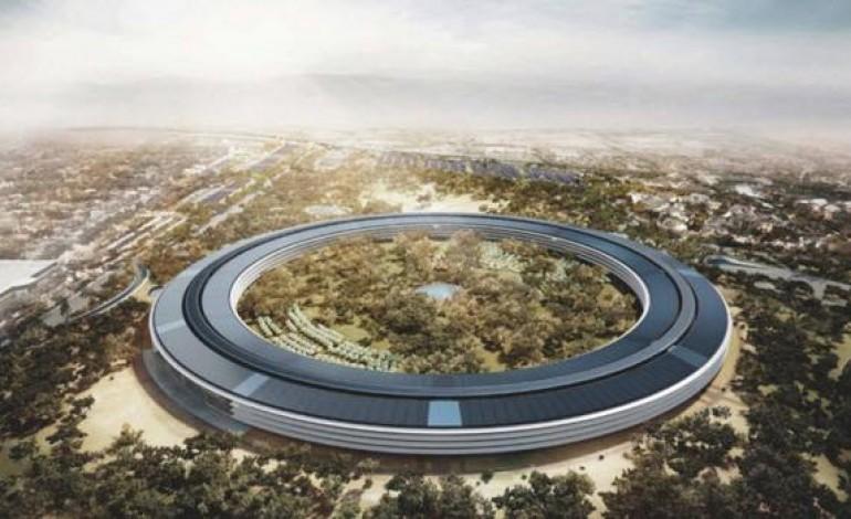 Apple'ın dev üssünün son hali görüntülendi