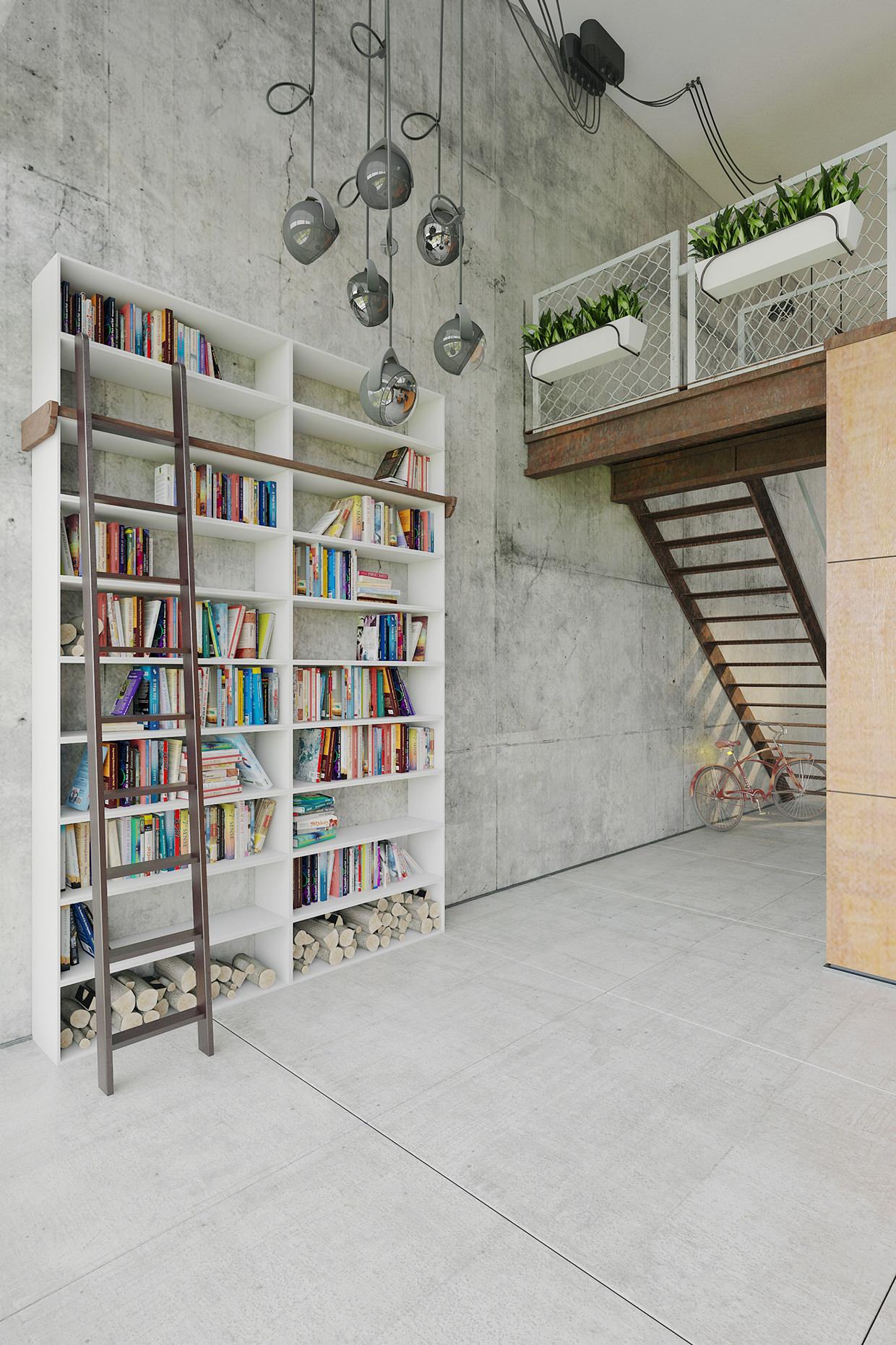 loft daire konsepti