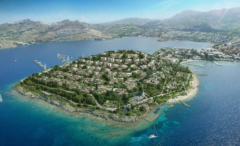Epique Island'da metrekare 8000 Euro