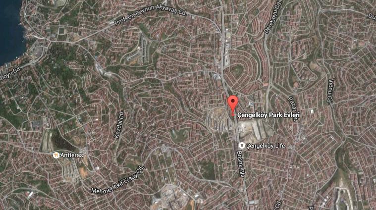 çengelköy park evleri ulaşım