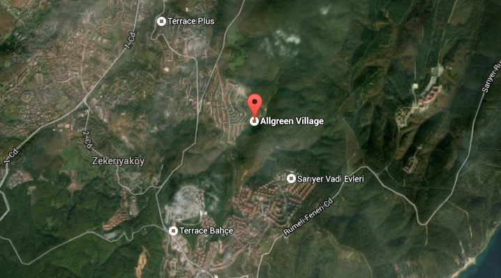 allgreen village zekeriyaköy ulaşım
