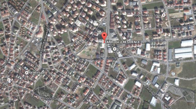 arifoğlu residence ulaşım