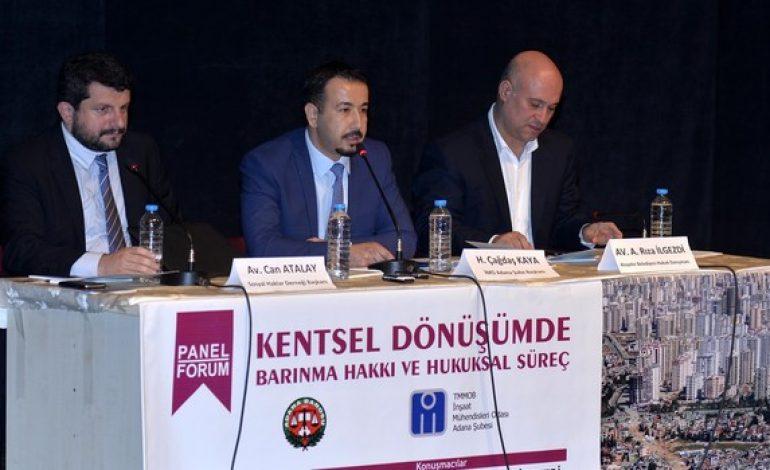 Adana'da kentsel dönüşüm anlatıldı