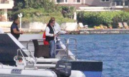 Alia Ağaoğlu Amerikan Bayraklı Yatıyla Boğazda Balık Avladı