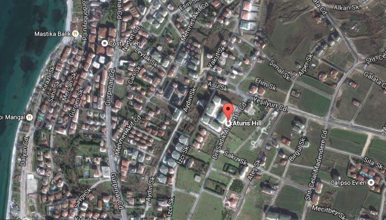 atirus hill residence ulaşım