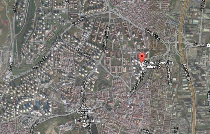 avrupa konutları atakent 2 ulaşım