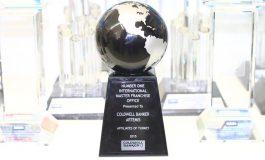 """Coldwell Banker """" Uluslararası Küre ödülü"""" Artemis'in Oldu"""