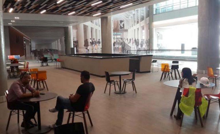 3. Havalimanın ilk yocu salonu tamamlandı