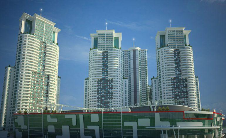 Balkanlar'ın en yüksek projesi Sky City'ye Türk Aironn imzası