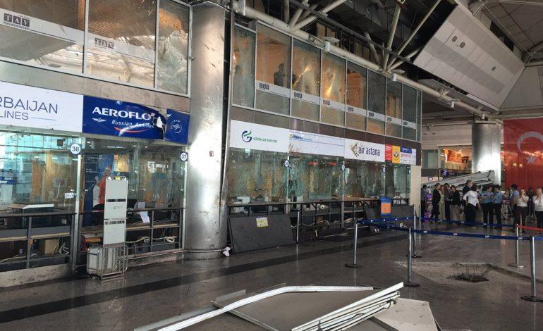 Atatürk Havalimanı'nda Hasar Çalışmaları Başladı