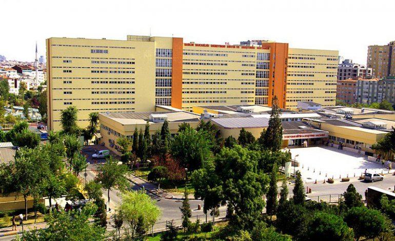 Okmeydanı Hastanesi Çocuk Hematoloji Kliniği binasında kayma