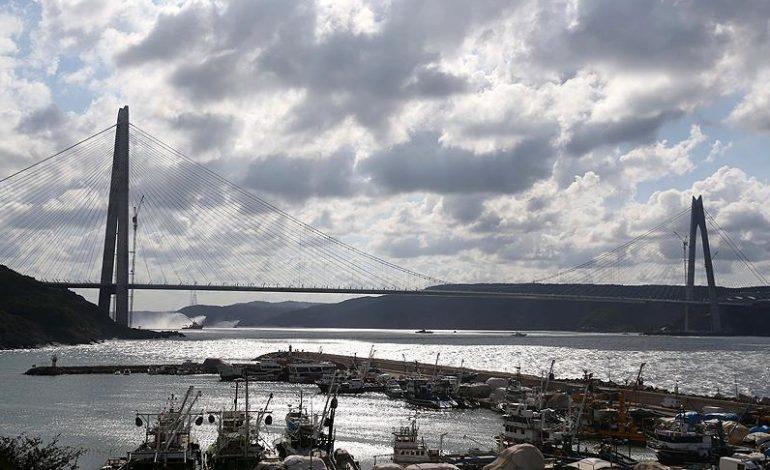 Yavuz Sultan Selim Köprüsü faaliyette