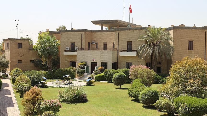 bağdat büyükelçilik binası