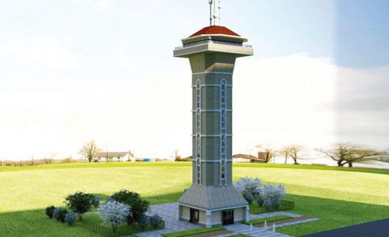 İstanbul'un kuzey ormanlarına, gözetleme kulesi