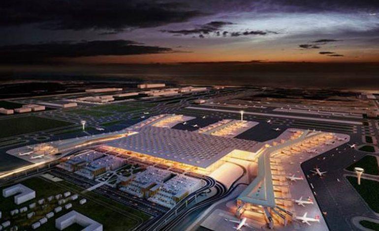 Yeni havalimanında alan kiralamaları başladı