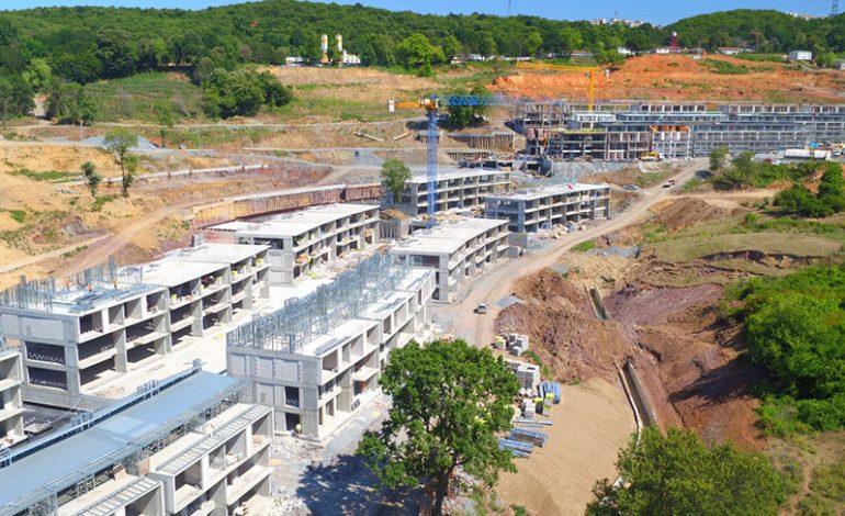 'KÖY' de yargıya rağmen inşaat devam ediyor
