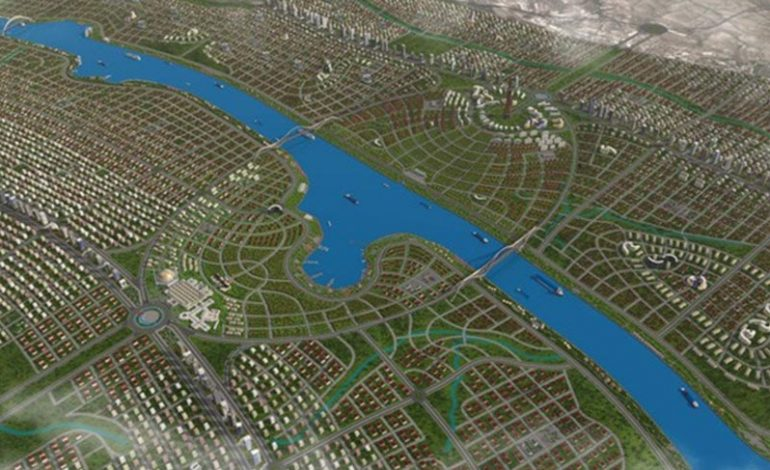 Kanal İstanbul'a genişlik ayarı