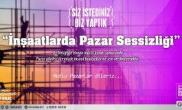 Maltepe'de Pazar Günleri inşaatlara Çalışma Yasağı