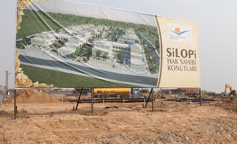 Silopi ve Diyarbakır'daki konutlarda sona doğru