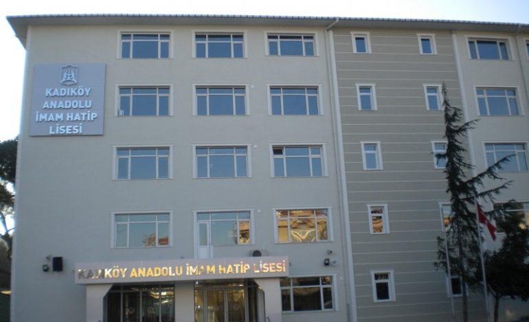Kadıköy Anadolu İmam Hatip Lisesi Arazisi İmara Açılıyor
