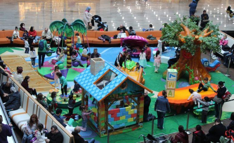 One Tower Avm, Çocukların Eğlence Merkezi Oldu