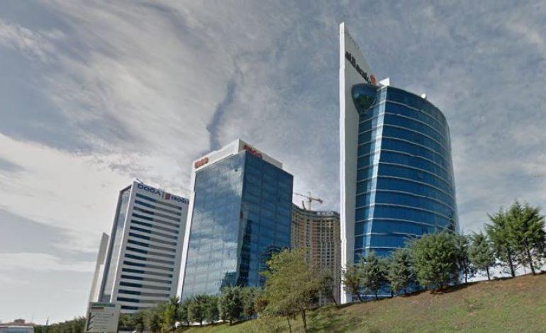 İkinci Çeyrekte Ofis Stoku, Avrupa Yakası 3.363 bin, Anadolu Yakası 1.887 bin m2