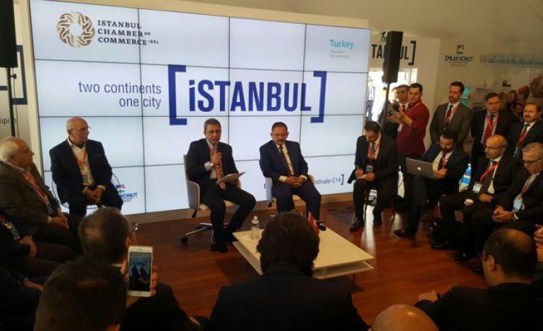 Mehmet Özhaseki MIPIM Açılışında Konuştu