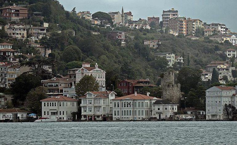 İstanbul Boğazı'ndaki yapıların değeri 610 milyar lira