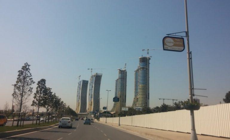 İstmarina'da Kuleler Yükseldi