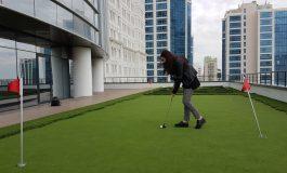 İş Merkezlerinde Golf Modası