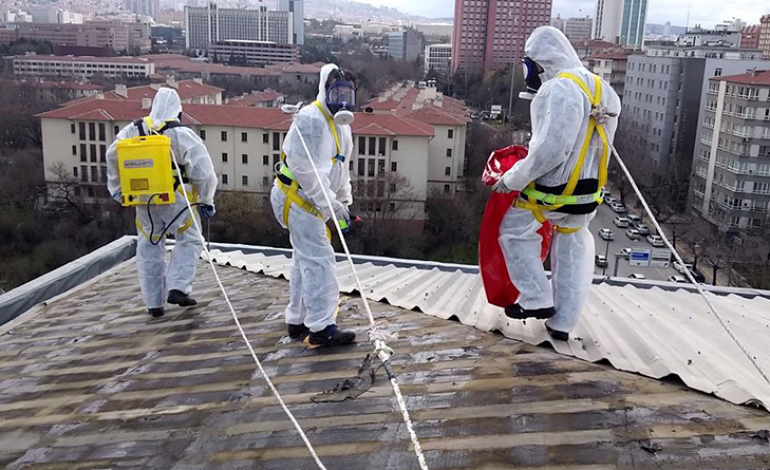 Asbest Raporu Olmayan Binaya İzni Yok!