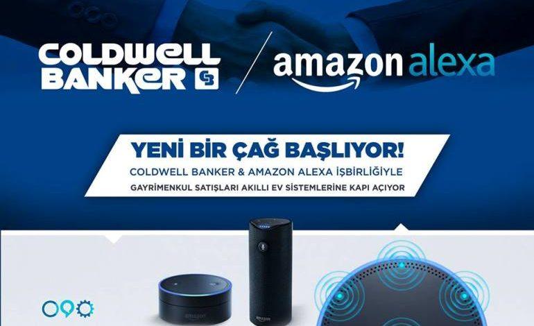 Coldwell Banker Amazon Alexa ile işbirliği yaptı