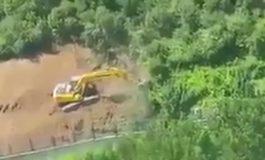 Maslak'taki Askeri Arazide İş Makineleri Çalışıyor