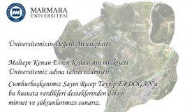 Maltepe Kenan Evren Kışlası Arazisi Marmara Üniversitesine Devredildi